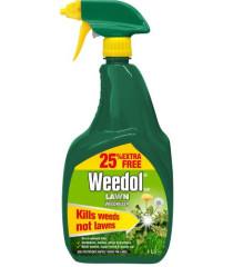 Weedol Lawn Weedkiller Gun - 800ml + 25% Free