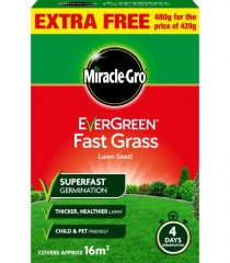 Miracle-Gro Fast Grass Lawn Seed - 480g