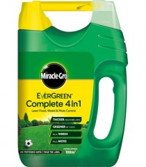 Miracle-Gro Evergreen Complete 4 in 1 Spreader - 100m2
