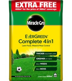Miracle-Gro Evergreen Complete 4 In 1 - 360m² + 10%