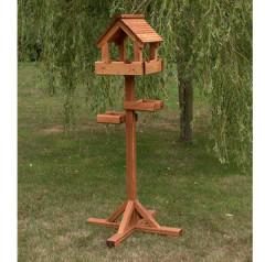 Riverside Woodcraft Baby Triple Bird Table