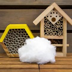 Synthetic Bumblebee Nesting Wool (2 packs)