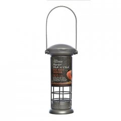 Tom Chambers Pewter Flick 'n' Click Fat Ball Feeder
