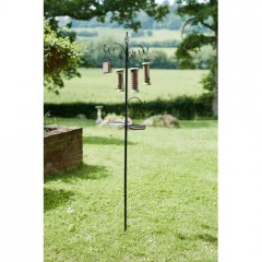 Chapelwood Complete Wild Bird Metal Dining Station with Feeders
