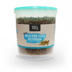 Dried Meal-worms Tub 100 grams and 400 grams
