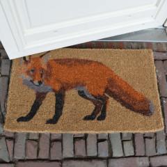 Fallen Fruits Fox Doormat - lifestyle