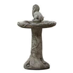 Borderstone Ivy Squirrel Bird Bath