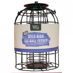 Nature's Market Fat Ball Feeder with Squirrel Guard
