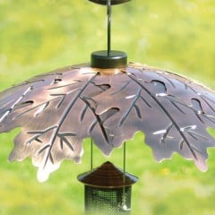 Brushed Copper Weather Shield - lifestyle