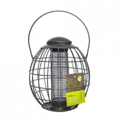 Tom Chambers Pewter Flick 'n' Click Squirrel Resistant Peanut Feeder