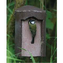 Jacobi Jayne Woodcrete Nest Box Green or Brown 26mm and 32mm