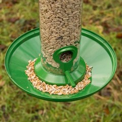 Red Barn Seed Catcher Tray -  Metal