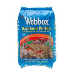 Webbox Rainbow Mixed Pond Pellets - 10kg